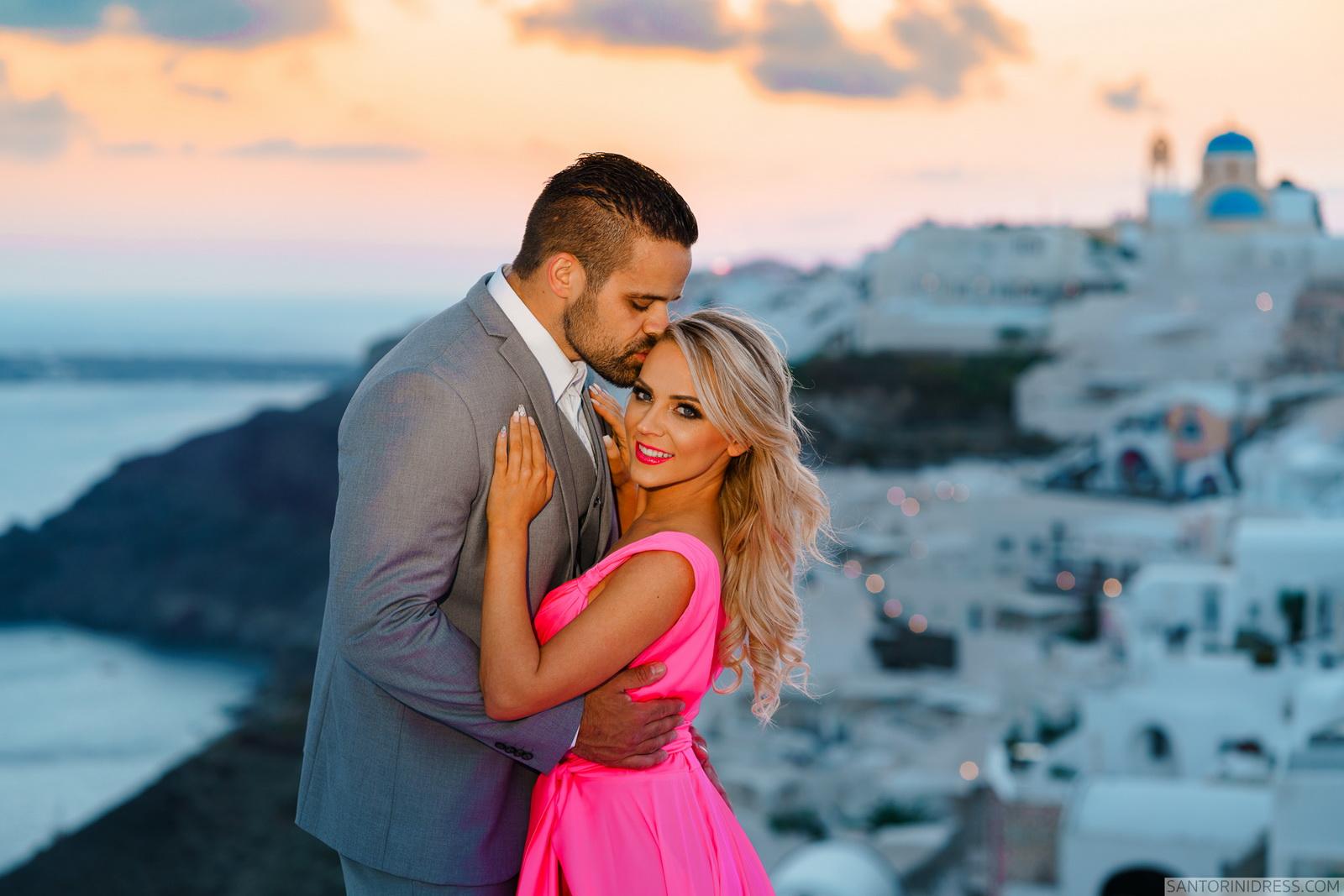 Shawna Bill: свадьба на санторини, свадебное агентство Julia Veselova - Фото 29