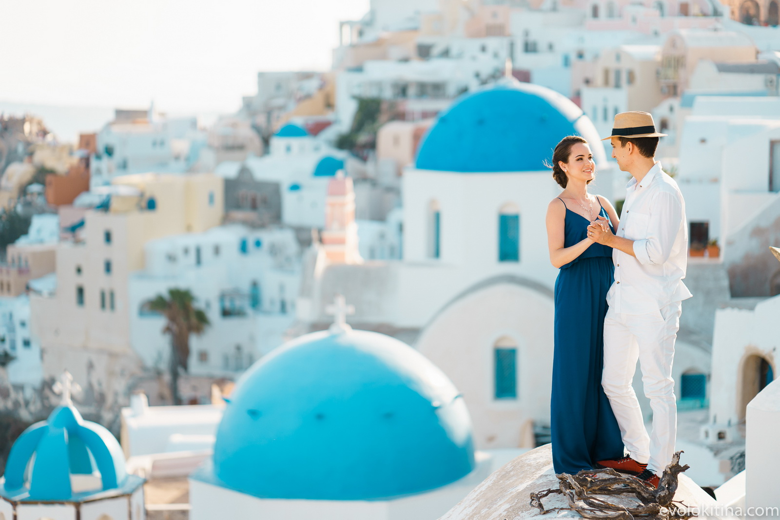 Тимур и Камилла: свадьба на санторини, свадебное агентство Julia Veselova - Фото 1