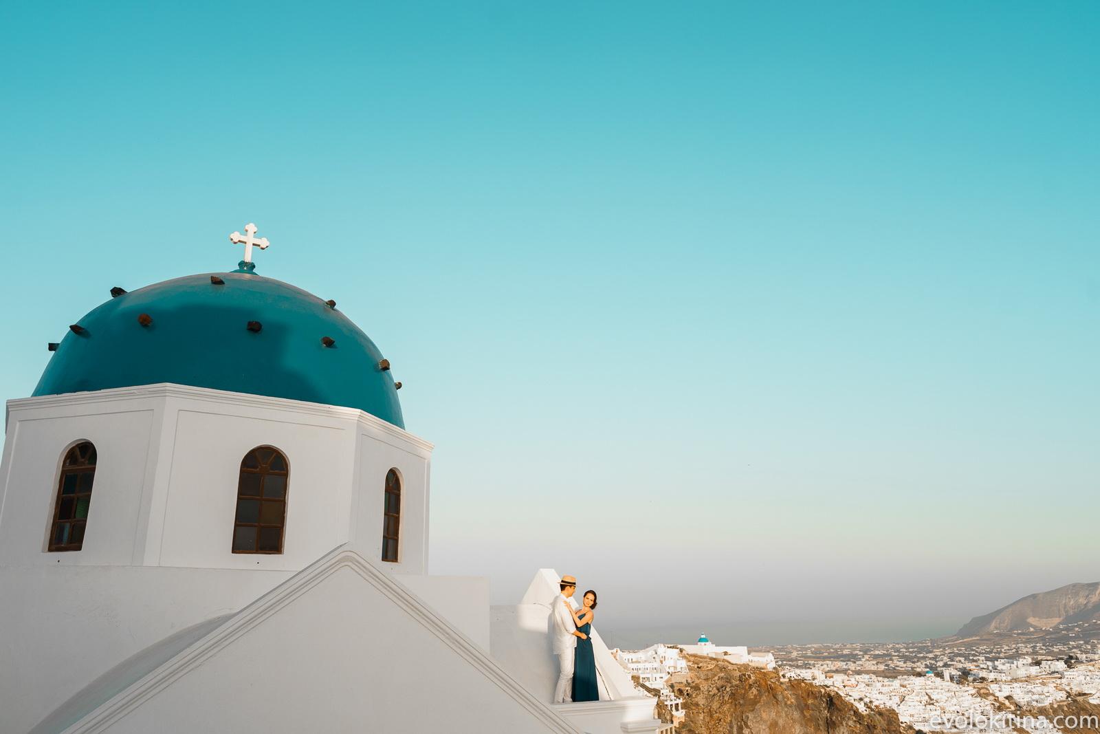 Тимур и Камилла: свадьба на санторини, свадебное агентство Julia Veselova - Фото 10