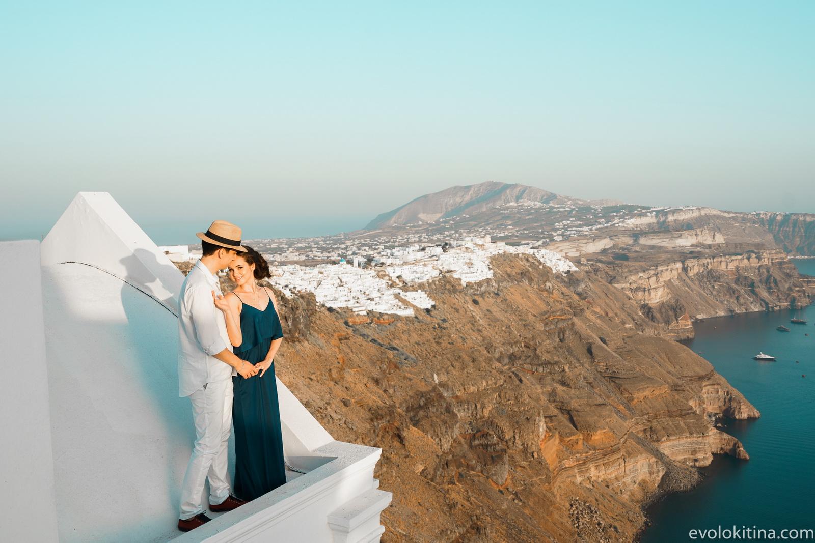 Тимур и Камилла: свадьба на санторини, свадебное агентство Julia Veselova - Фото 11