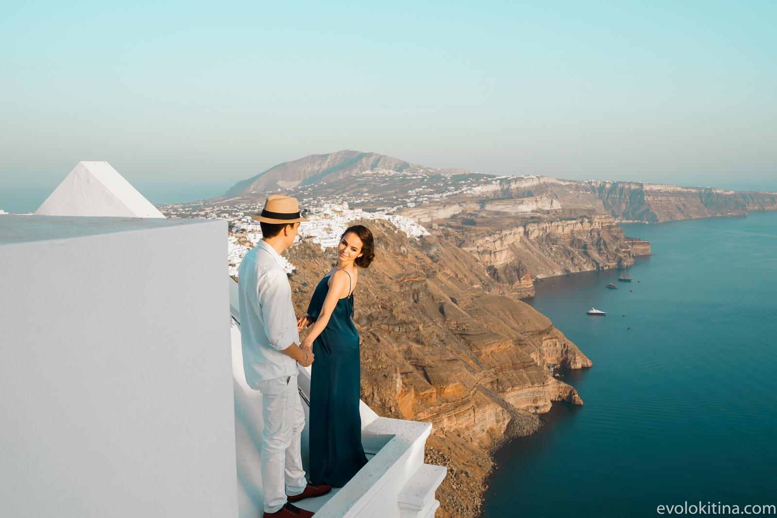 Тимур и Камилла: свадьба на санторини, свадебное агентство Julia Veselova - Фото 13