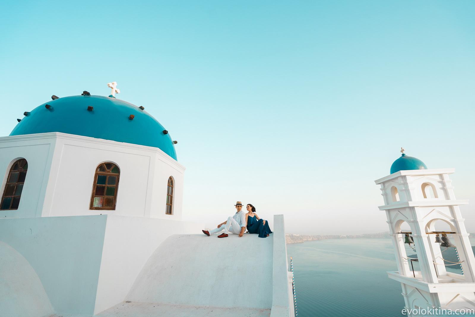 Тимур и Камилла: свадьба на санторини, свадебное агентство Julia Veselova - Фото 14