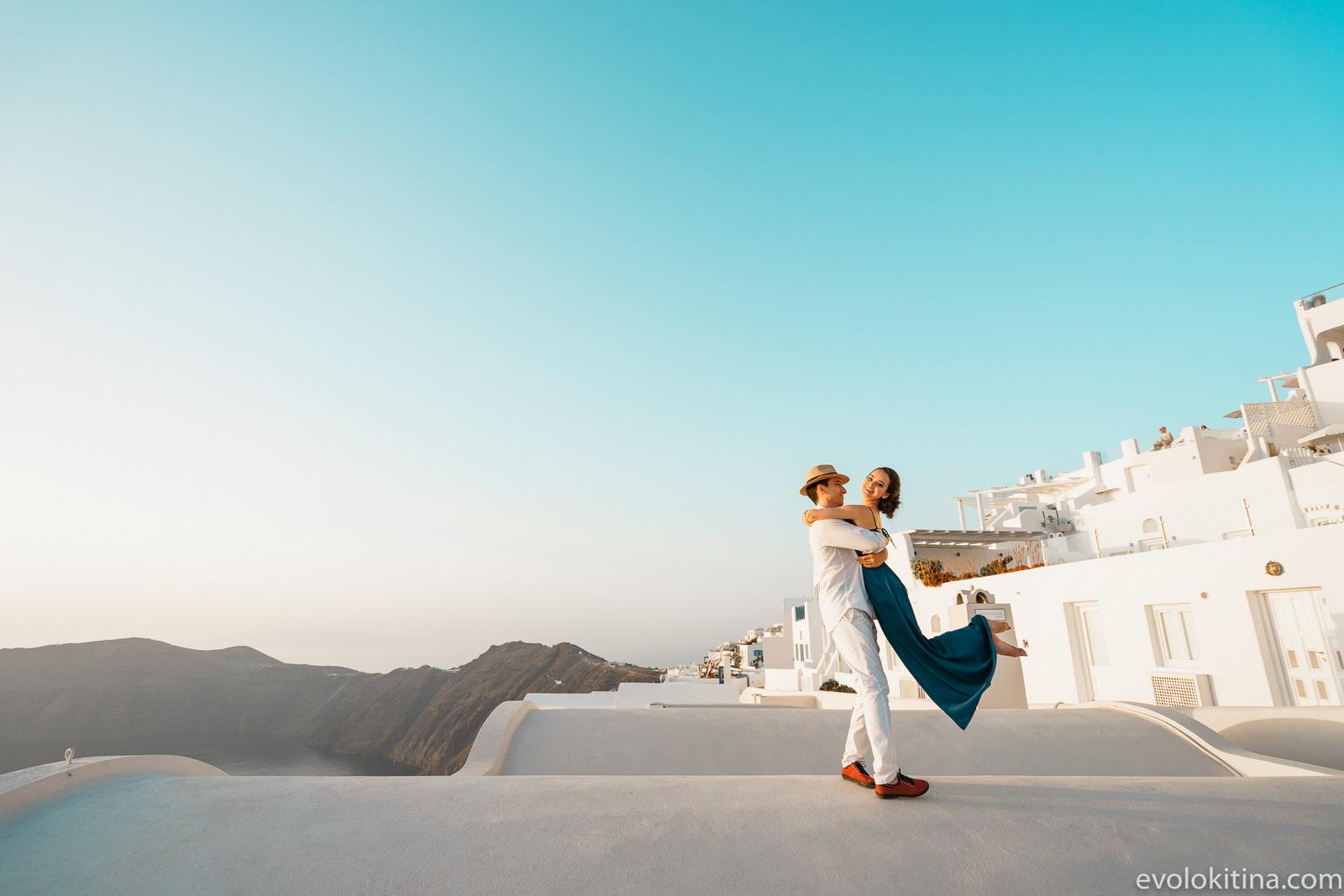 Тимур и Камилла: свадьба на санторини, свадебное агентство Julia Veselova - Фото 16