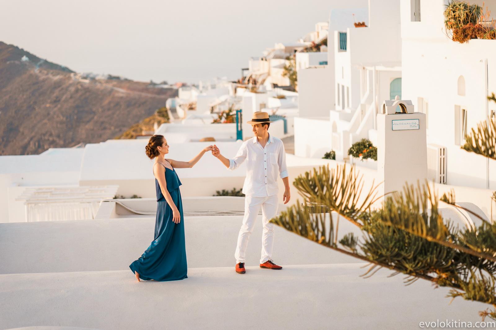 Тимур и Камилла: свадьба на санторини, свадебное агентство Julia Veselova - Фото 18