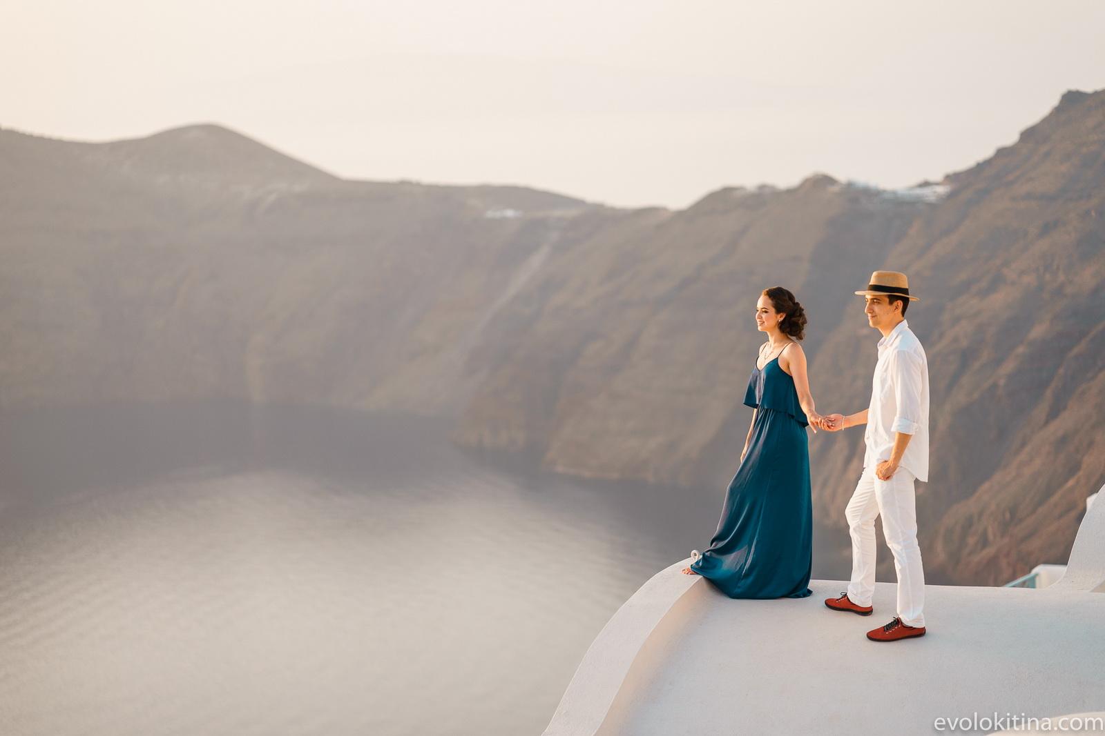 Тимур и Камилла: свадьба на санторини, свадебное агентство Julia Veselova - Фото 19
