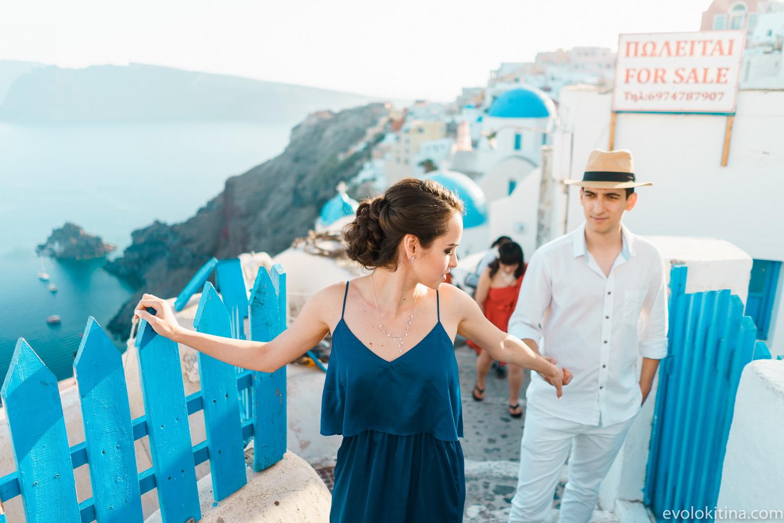Тимур и Камилла: свадьба на санторини, свадебное агентство Julia Veselova - Фото 2
