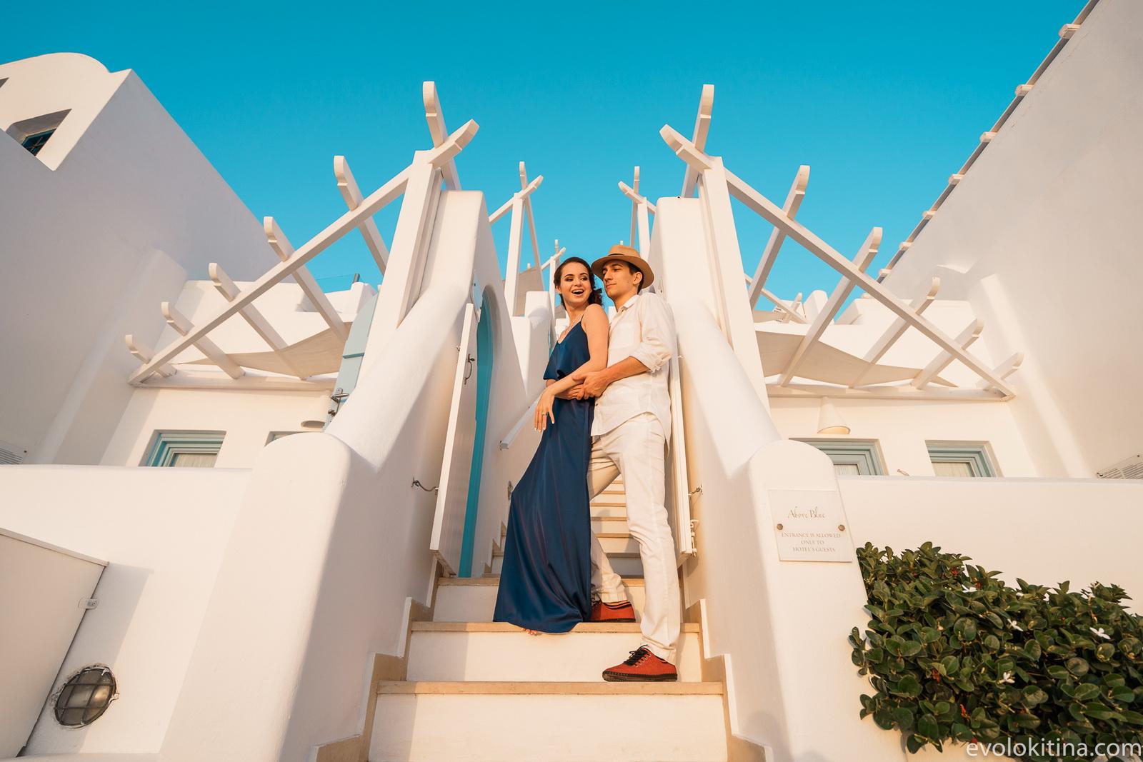 Тимур и Камилла: свадьба на санторини, свадебное агентство Julia Veselova - Фото 20