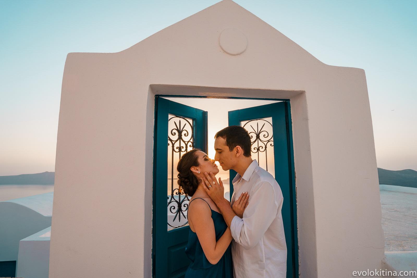Тимур и Камилла: свадьба на санторини, свадебное агентство Julia Veselova - Фото 21