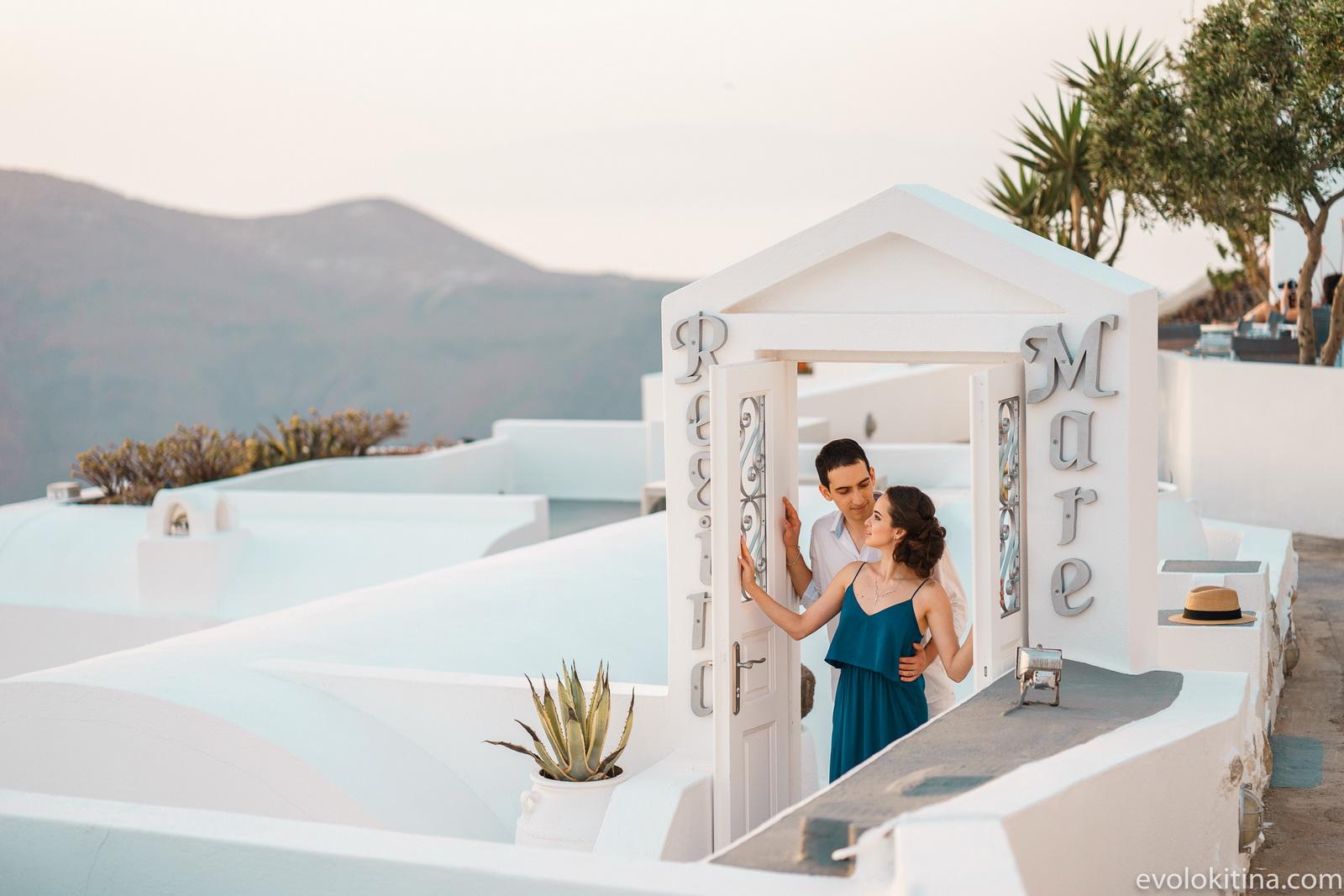 Тимур и Камилла: свадьба на санторини, свадебное агентство Julia Veselova - Фото 22