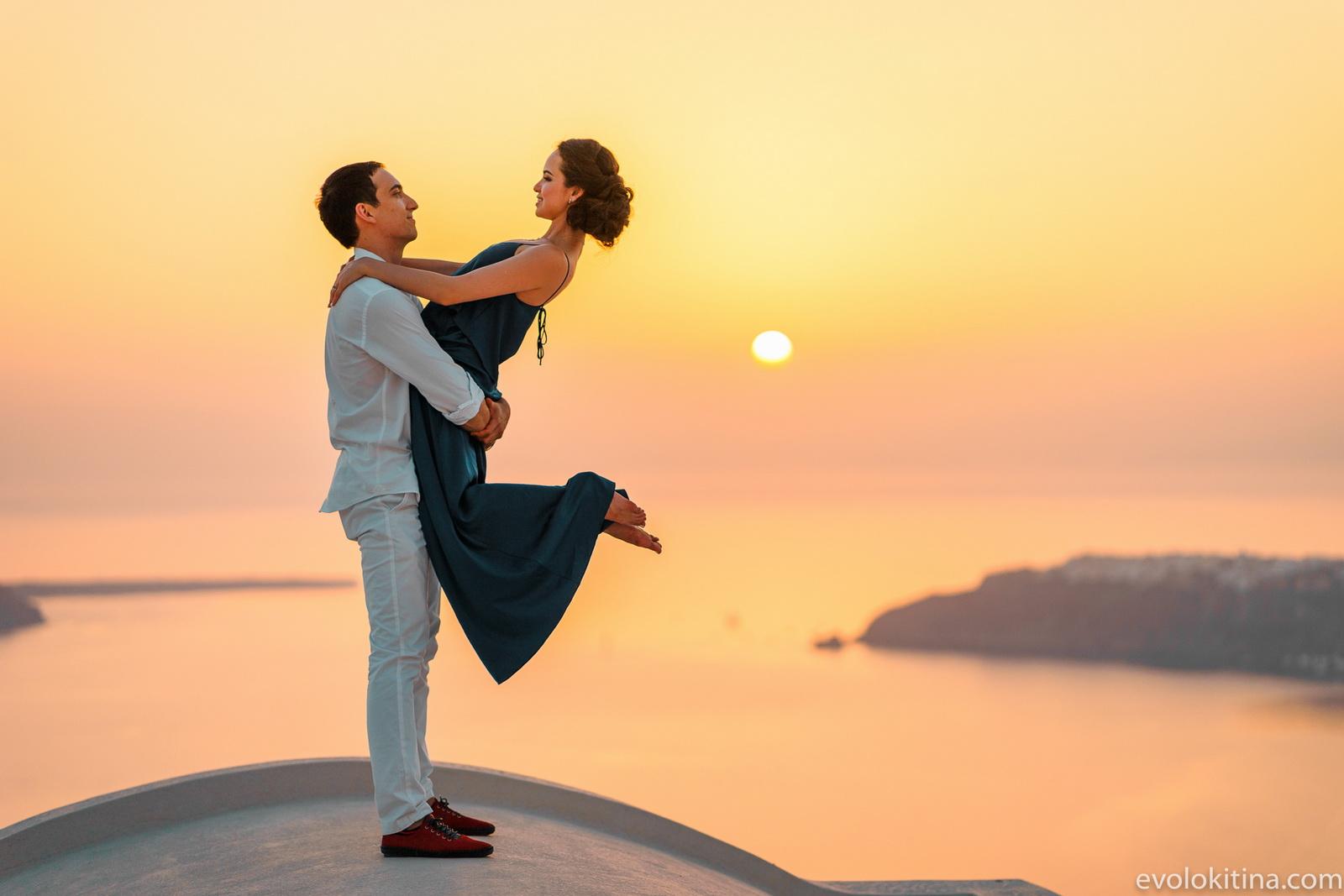 Тимур и Камилла: свадьба на санторини, свадебное агентство Julia Veselova - Фото 23