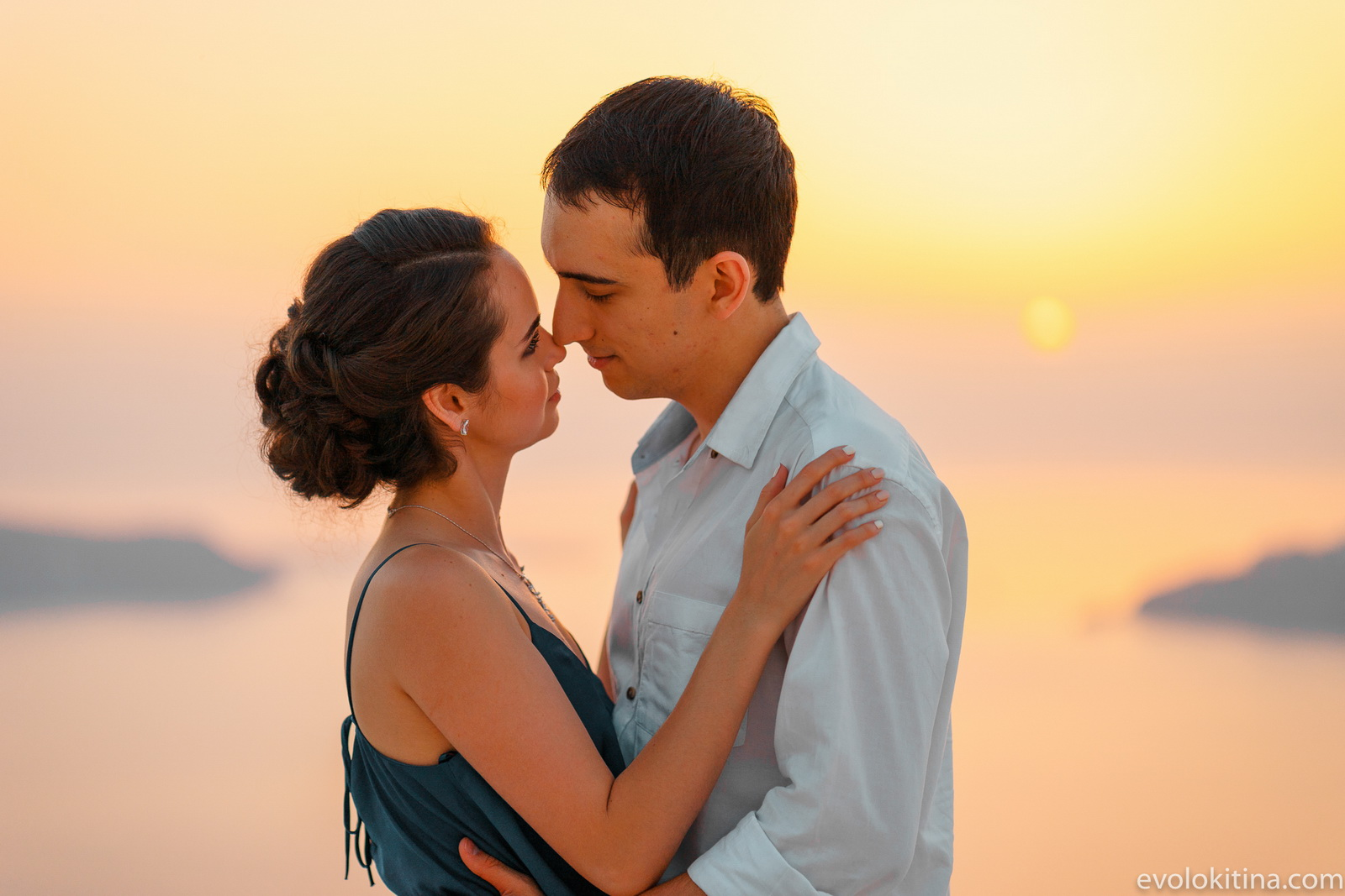 Тимур и Камилла: свадьба на санторини, свадебное агентство Julia Veselova - Фото 24