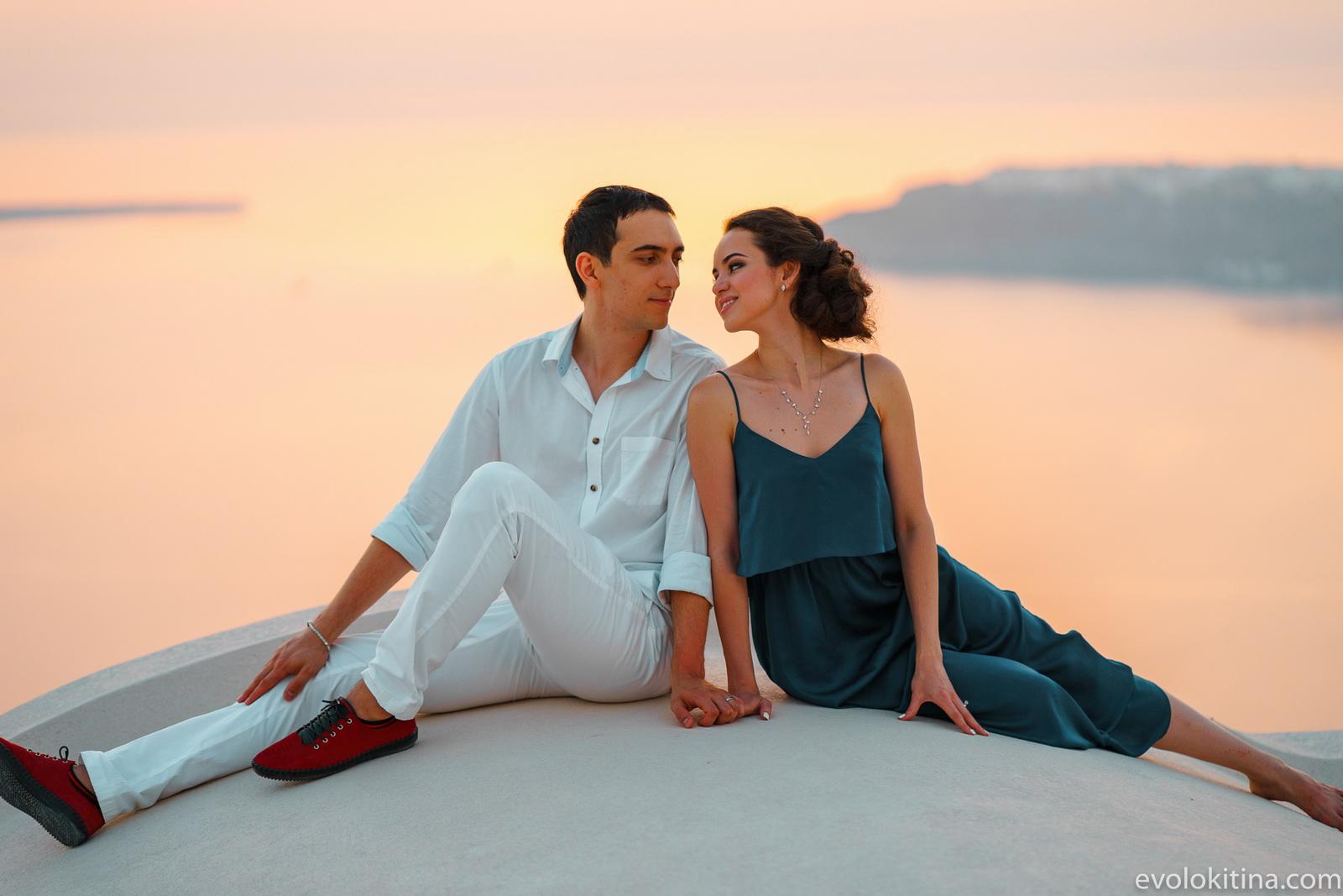 Тимур и Камилла: свадьба на санторини, свадебное агентство Julia Veselova - Фото 25