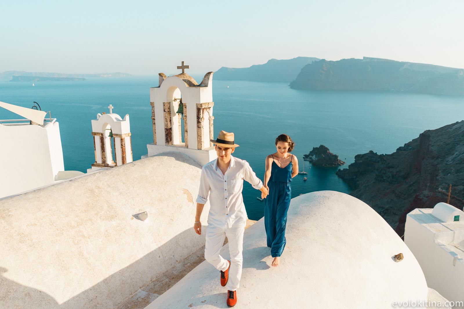 Тимур и Камилла: свадьба на санторини, свадебное агентство Julia Veselova - Фото 4