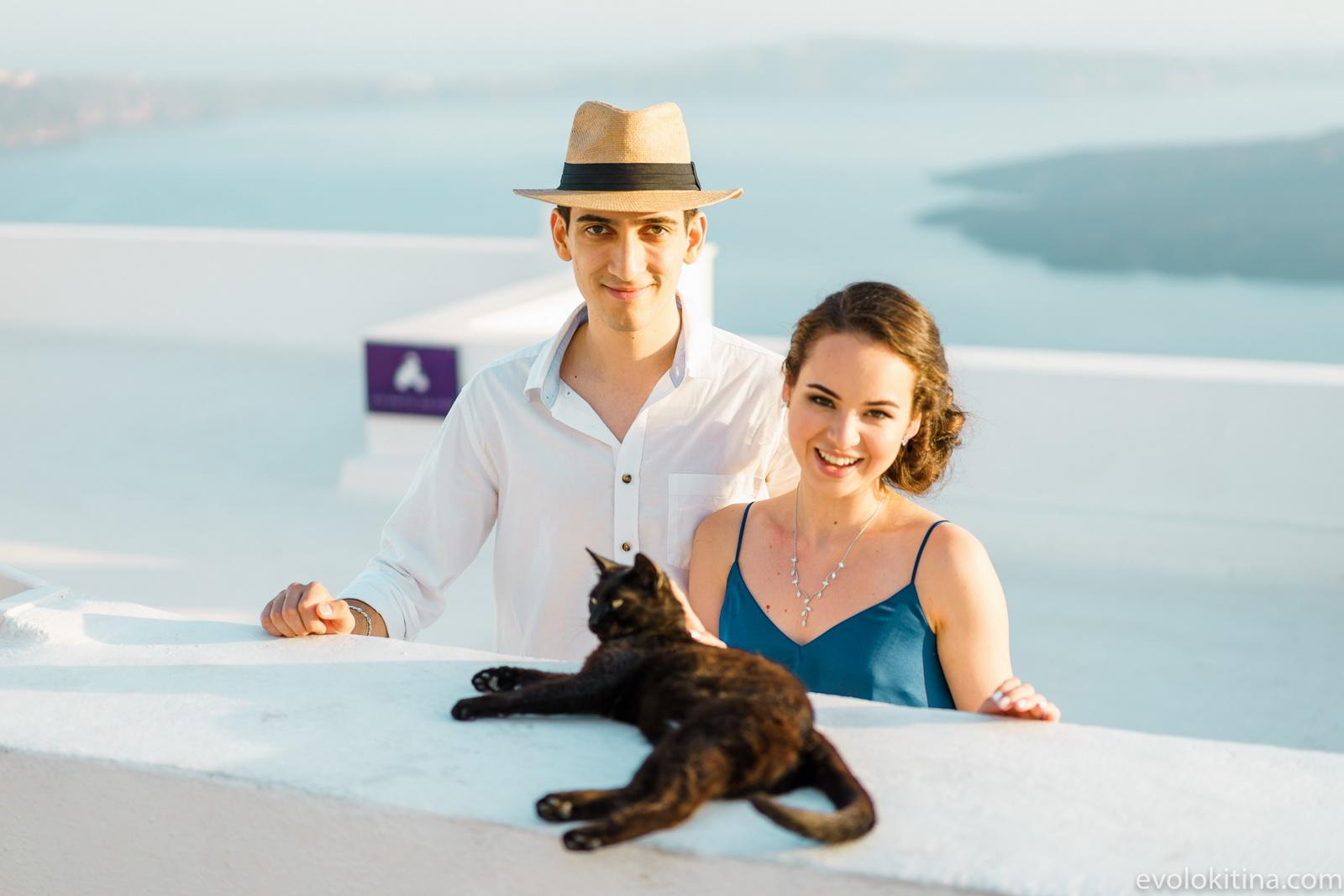 Тимур и Камилла: свадьба на санторини, свадебное агентство Julia Veselova - Фото 7