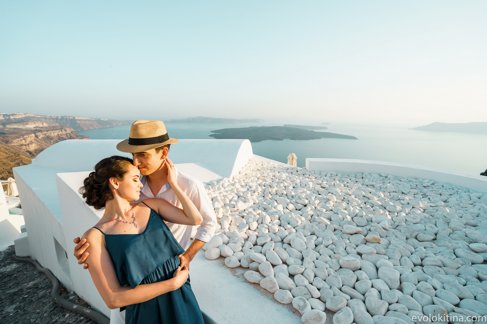Тимур и Камилла: свадьба на санторини, свадебное агентство Julia Veselova - Фото 8