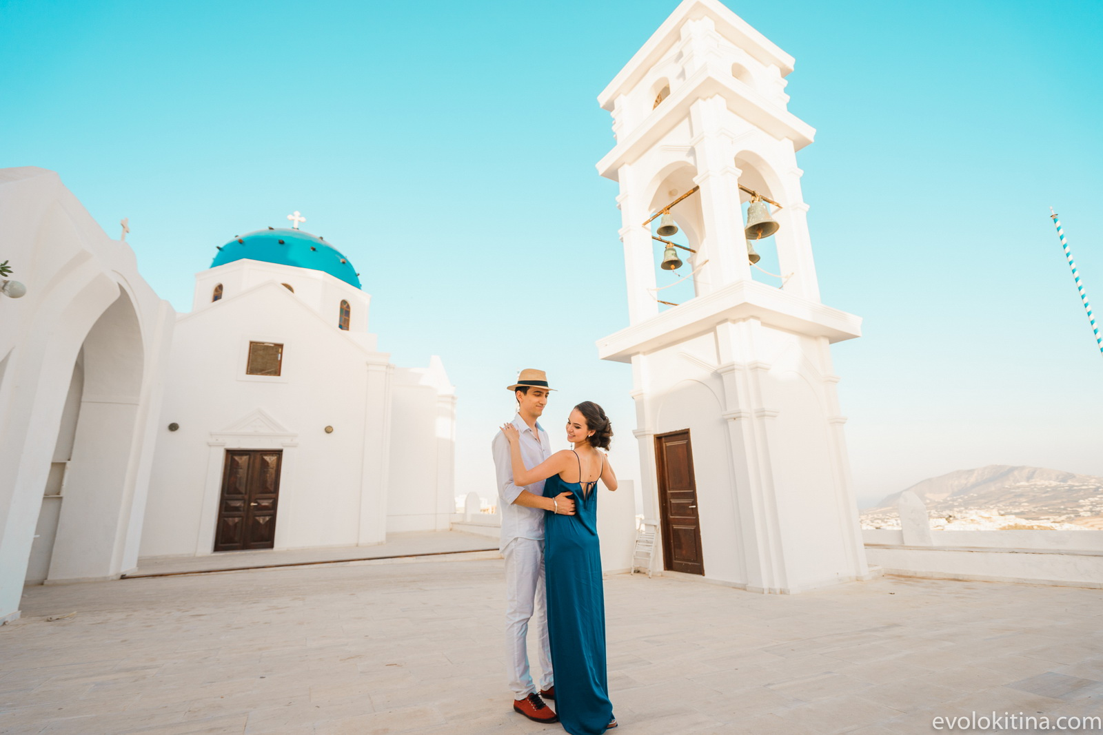 Тимур и Камилла: свадьба на санторини, свадебное агентство Julia Veselova - Фото 9