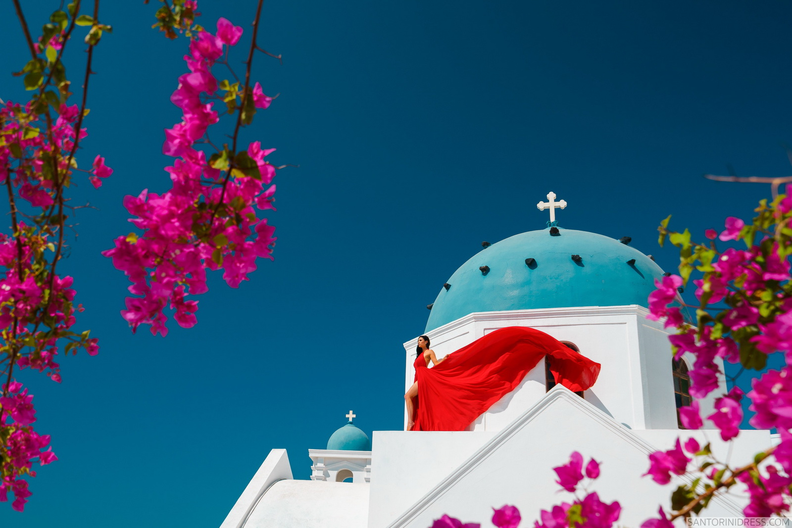 Tony: свадьба на санторини, свадебное агентство Julia Veselova - Фото 1