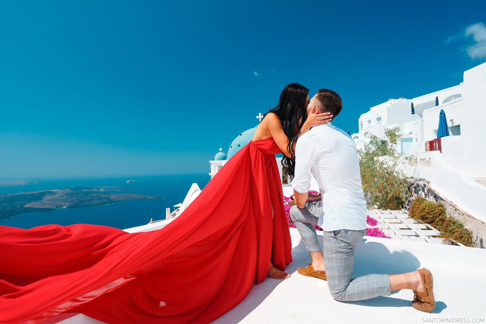 Tony: свадьба на санторини, свадебное агентство Julia Veselova - Фото 10