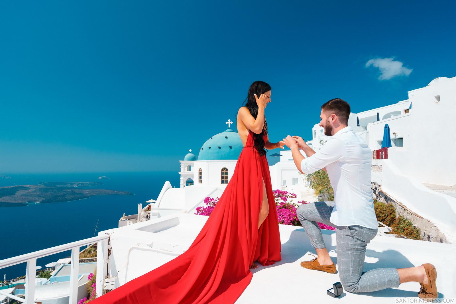Tony: свадьба на санторини, свадебное агентство Julia Veselova - Фото 11