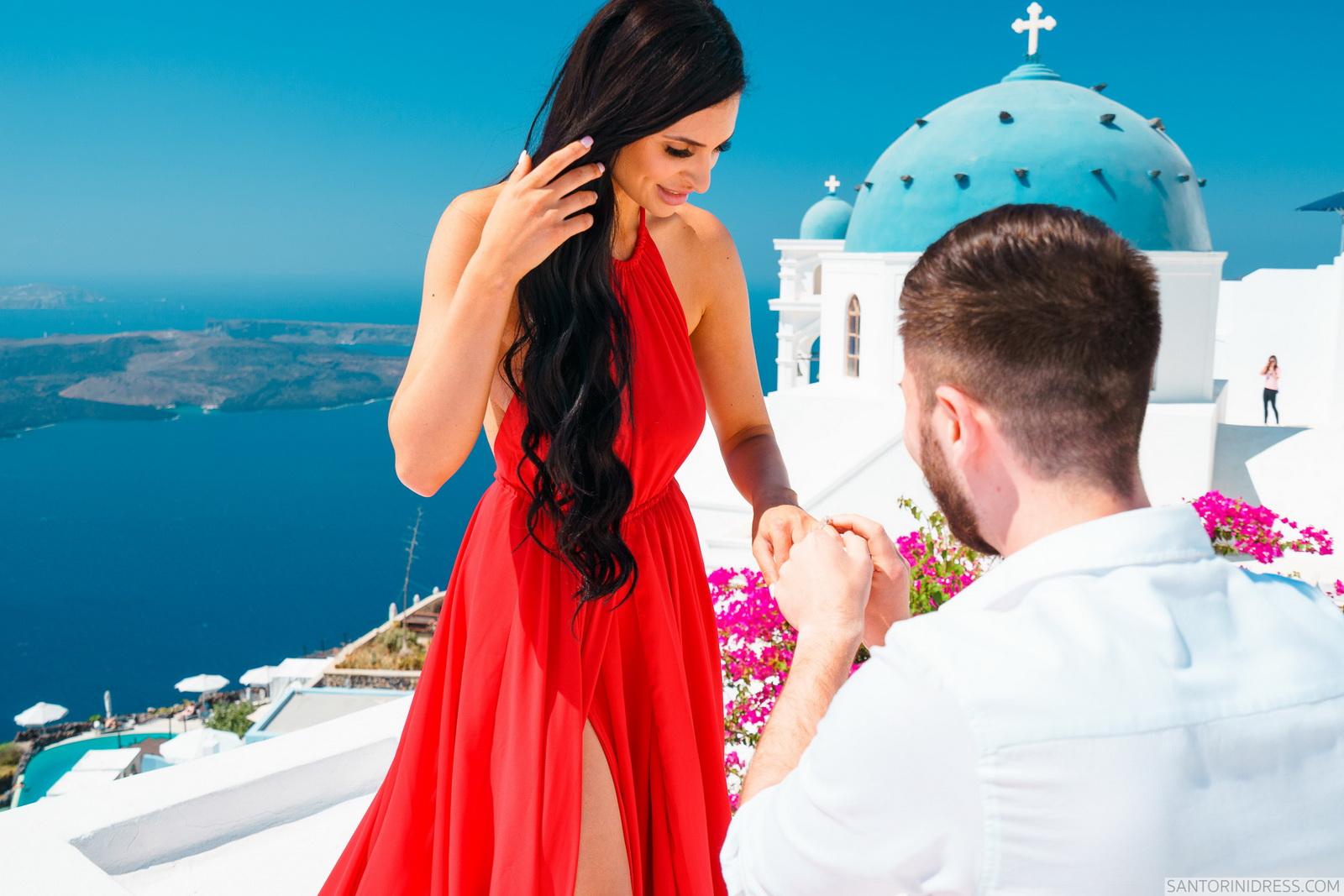 Tony: свадьба на санторини, свадебное агентство Julia Veselova - Фото 4