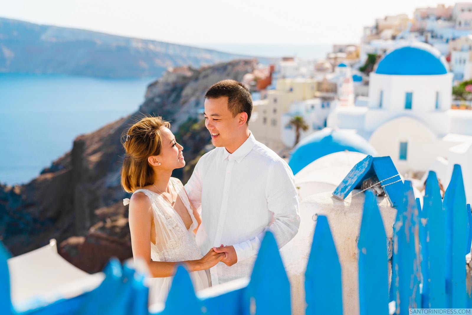 Zac Elizabeth: свадьба на санторини, свадебное агентство Julia Veselova - Фото 1
