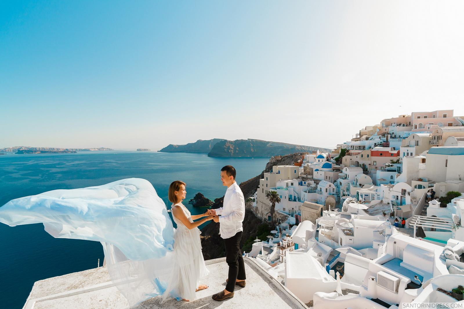 Zac Elizabeth: свадьба на санторини, свадебное агентство Julia Veselova - Фото 16