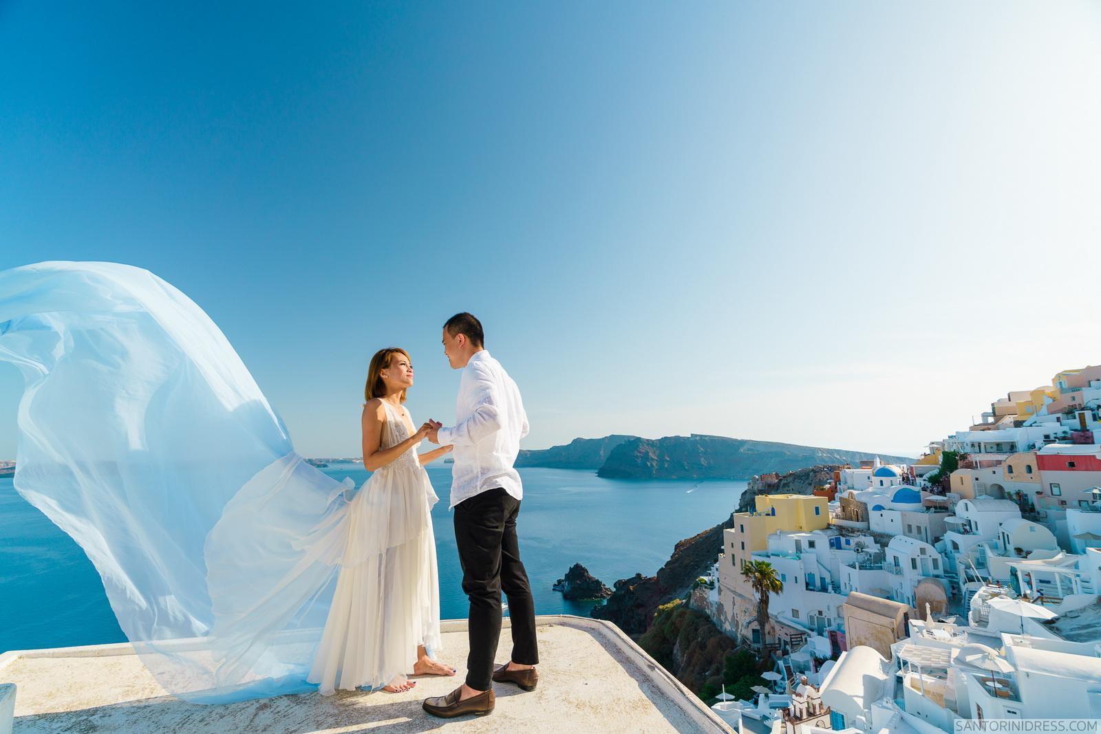Zac Elizabeth: свадьба на санторини, свадебное агентство Julia Veselova - Фото 17