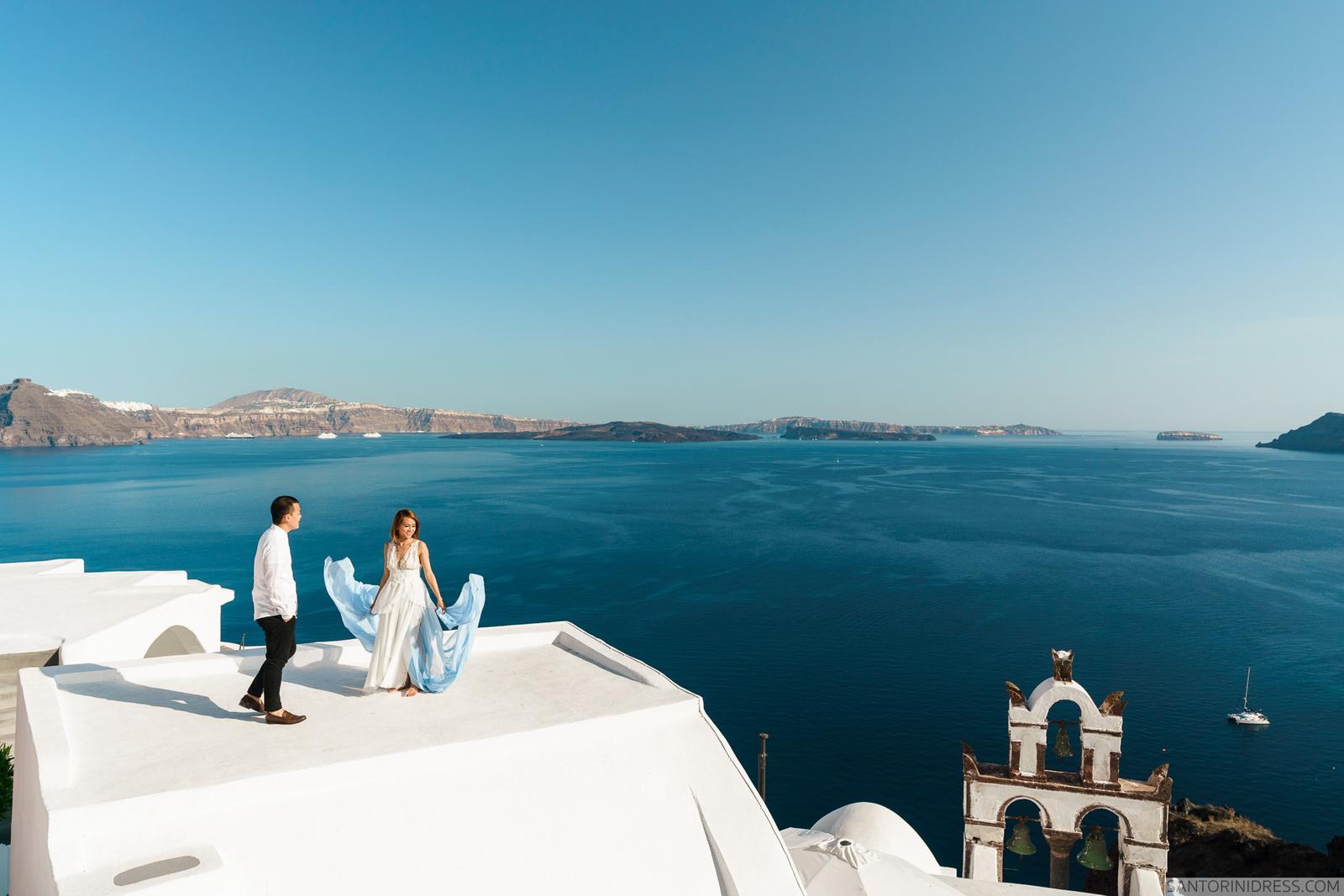 Zac Elizabeth: свадьба на санторини, свадебное агентство Julia Veselova - Фото 18