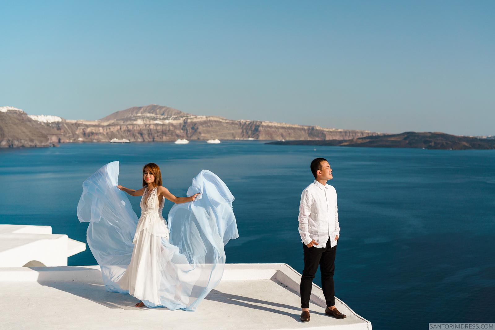 Zac Elizabeth: свадьба на санторини, свадебное агентство Julia Veselova - Фото 19