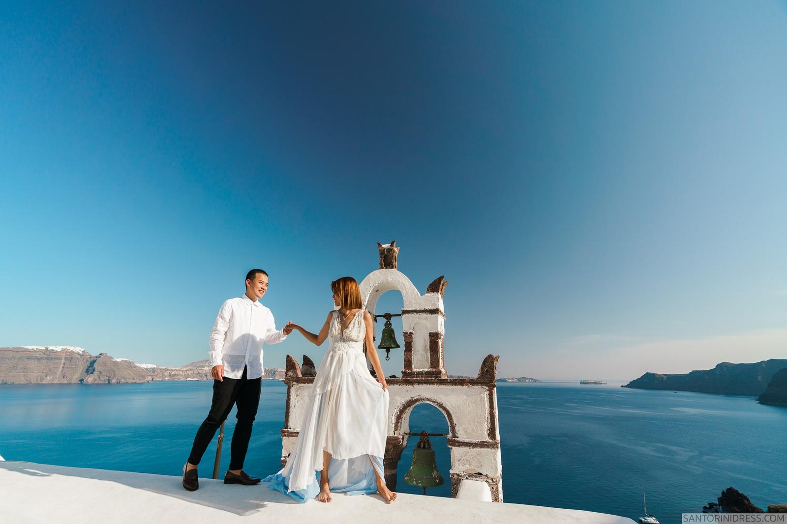 Zac Elizabeth: свадьба на санторини, свадебное агентство Julia Veselova - Фото 21