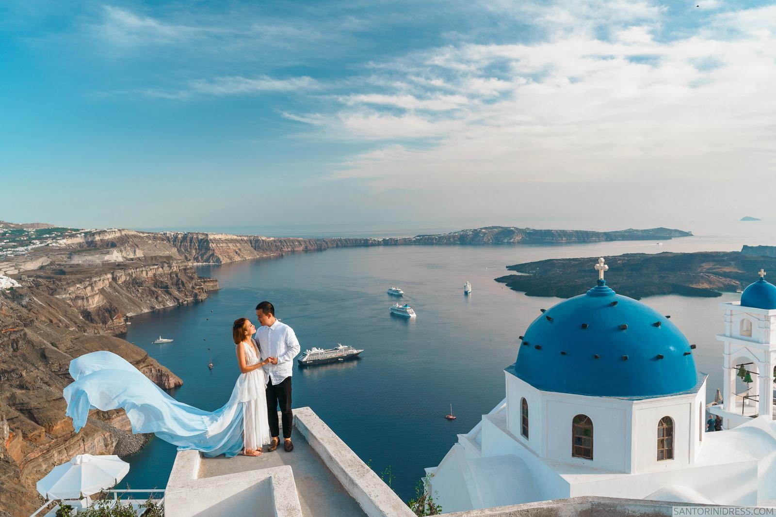 Zac Elizabeth: свадьба на санторини, свадебное агентство Julia Veselova - Фото 22
