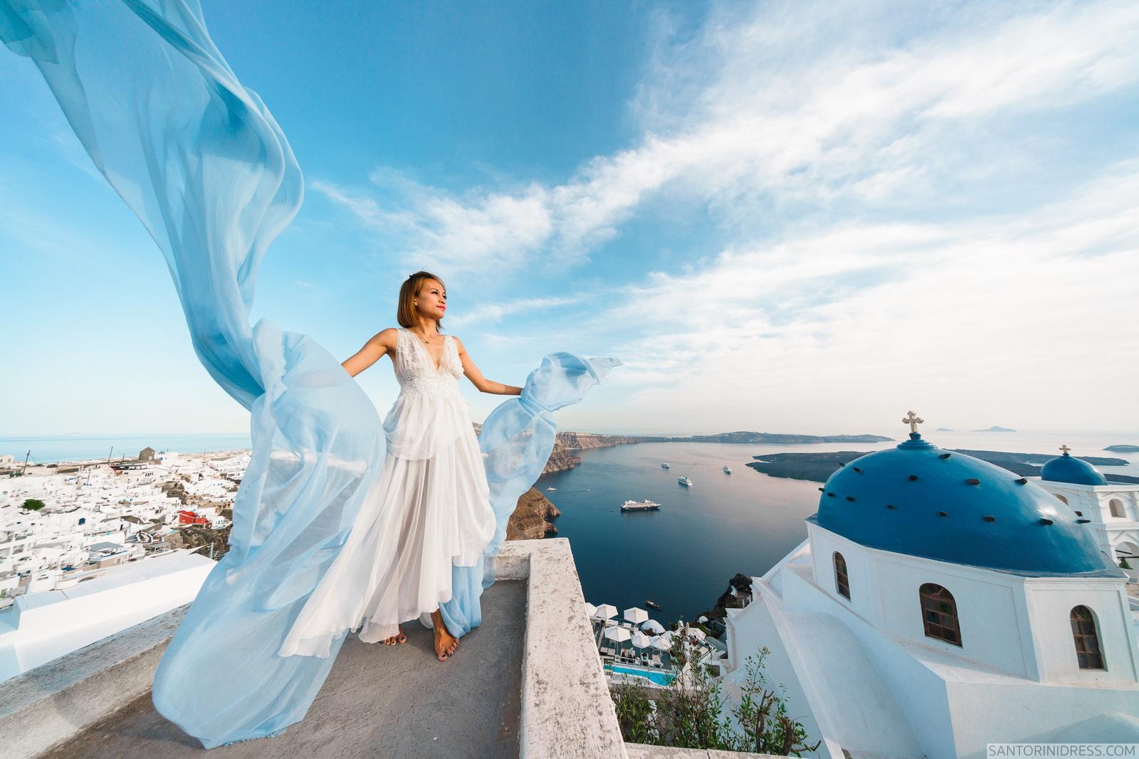 Zac Elizabeth: свадьба на санторини, свадебное агентство Julia Veselova - Фото 24