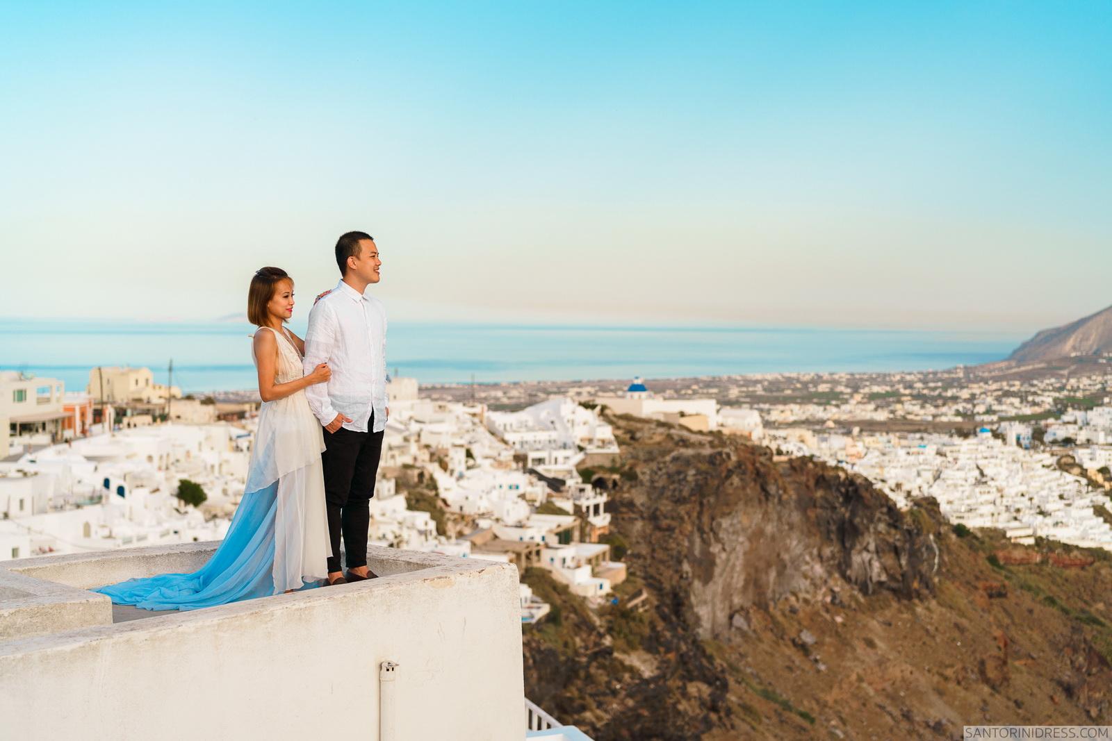 Zac Elizabeth: свадьба на санторини, свадебное агентство Julia Veselova - Фото 27