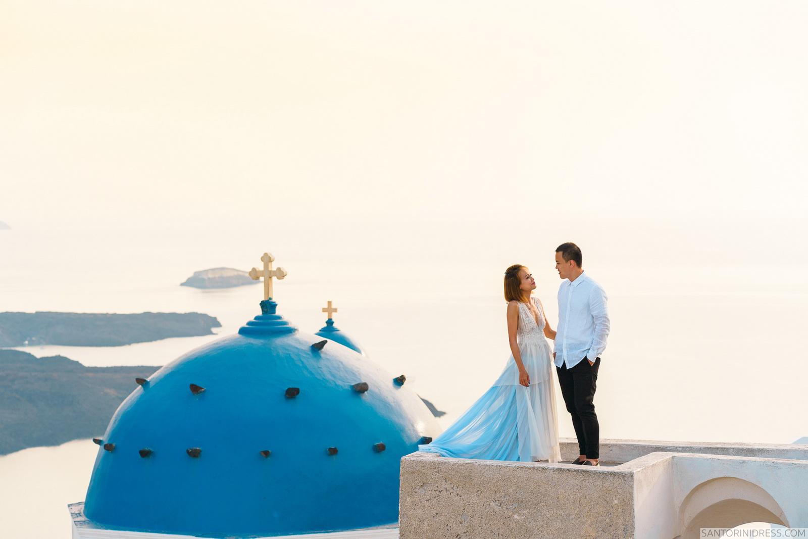 Zac Elizabeth: свадьба на санторини, свадебное агентство Julia Veselova - Фото 28