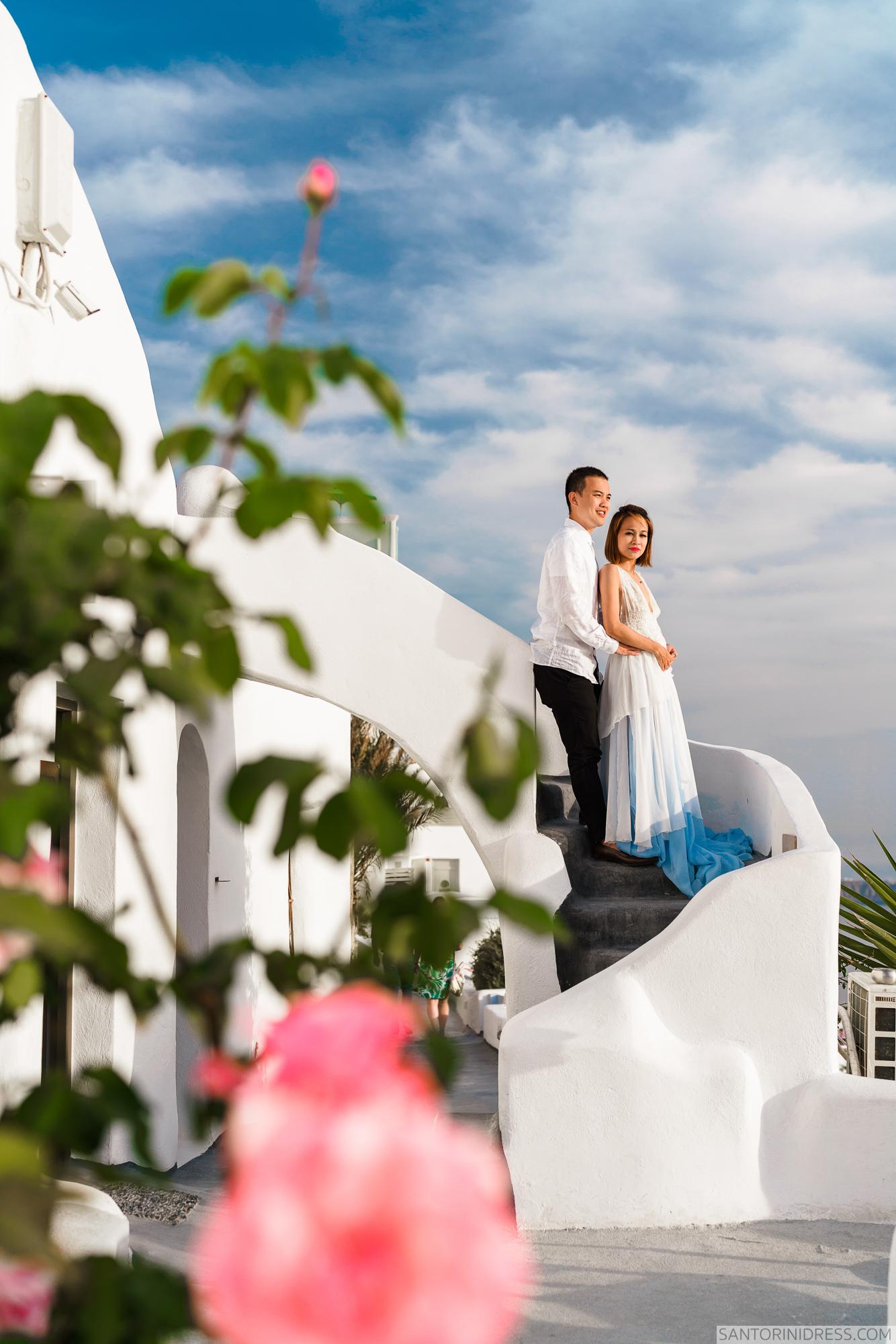 Zac Elizabeth: свадьба на санторини, свадебное агентство Julia Veselova - Фото 29