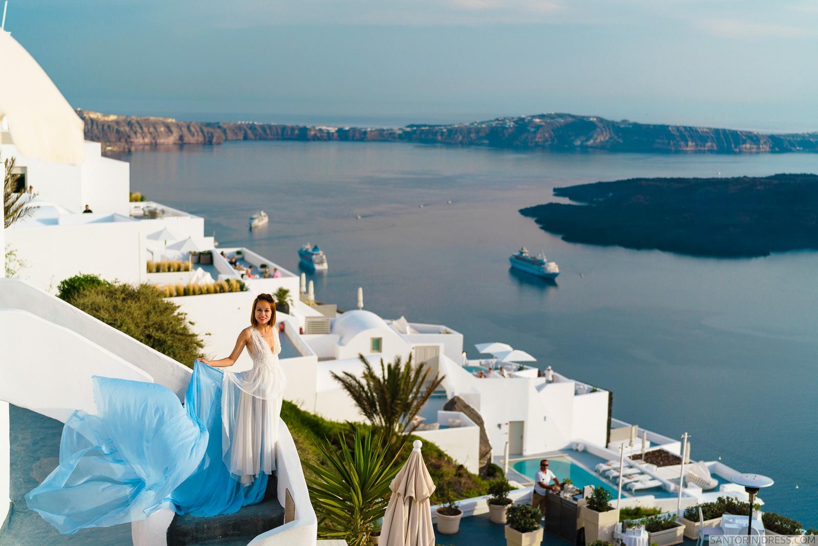 Zac Elizabeth: свадьба на санторини, свадебное агентство Julia Veselova - Фото 30