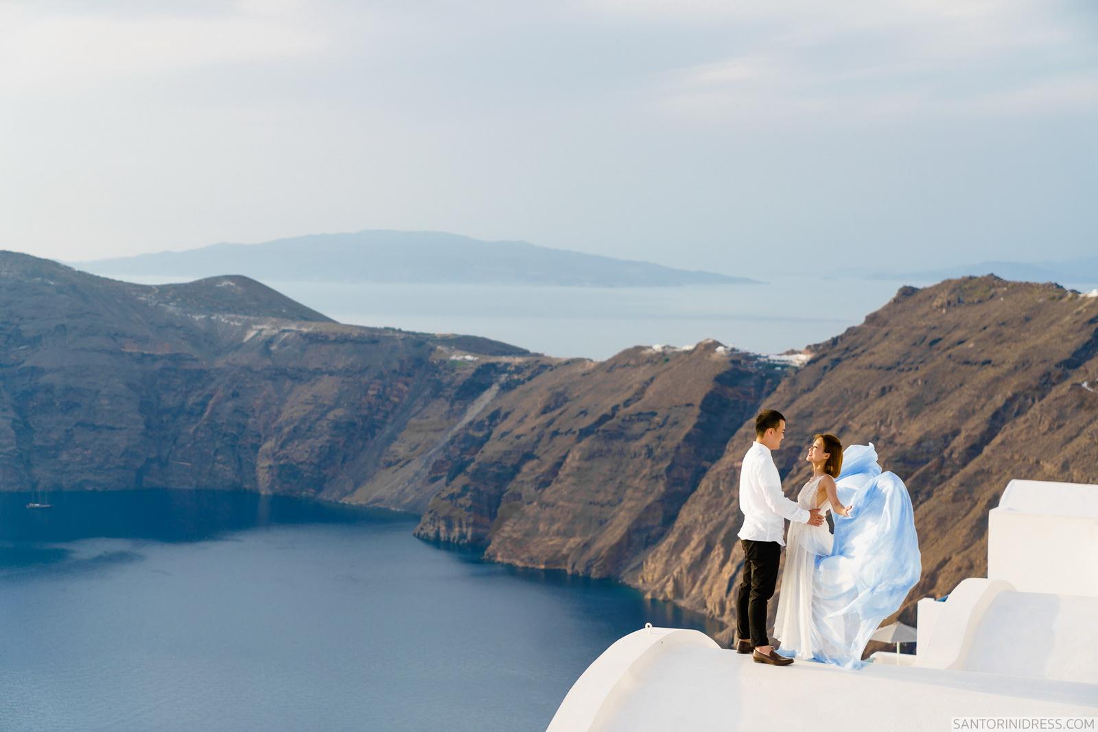 Zac Elizabeth: свадьба на санторини, свадебное агентство Julia Veselova - Фото 32