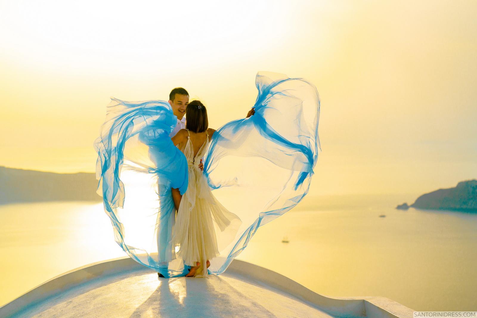 Zac Elizabeth: свадьба на санторини, свадебное агентство Julia Veselova - Фото 33