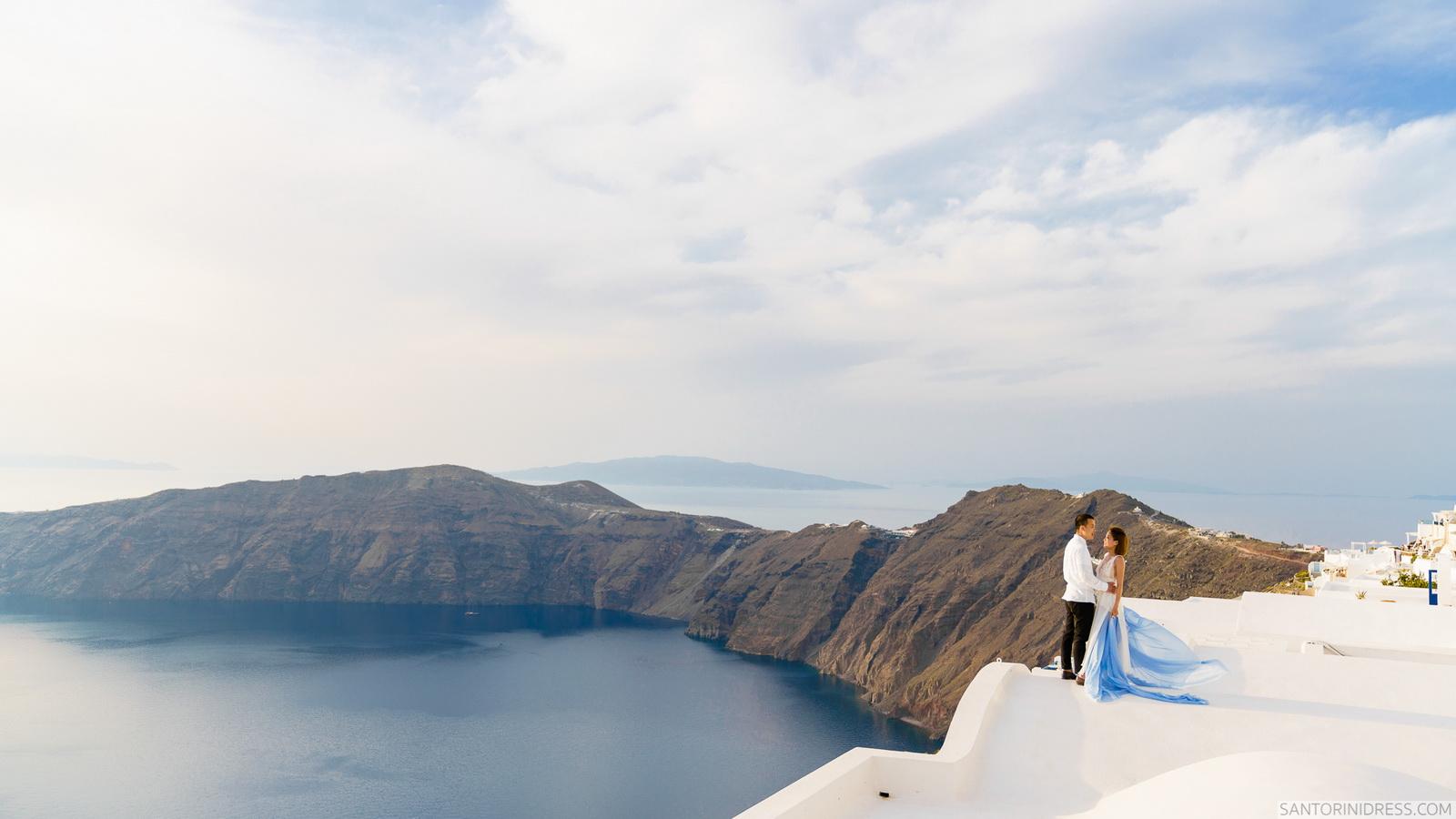 Zac Elizabeth: свадьба на санторини, свадебное агентство Julia Veselova - Фото 34
