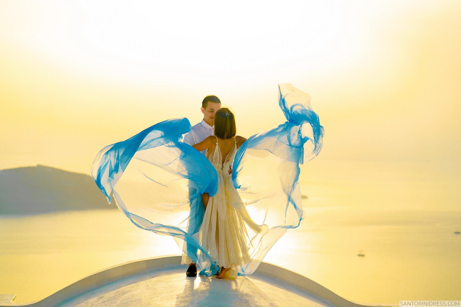 Zac Elizabeth: свадьба на санторини, свадебное агентство Julia Veselova - Фото 35
