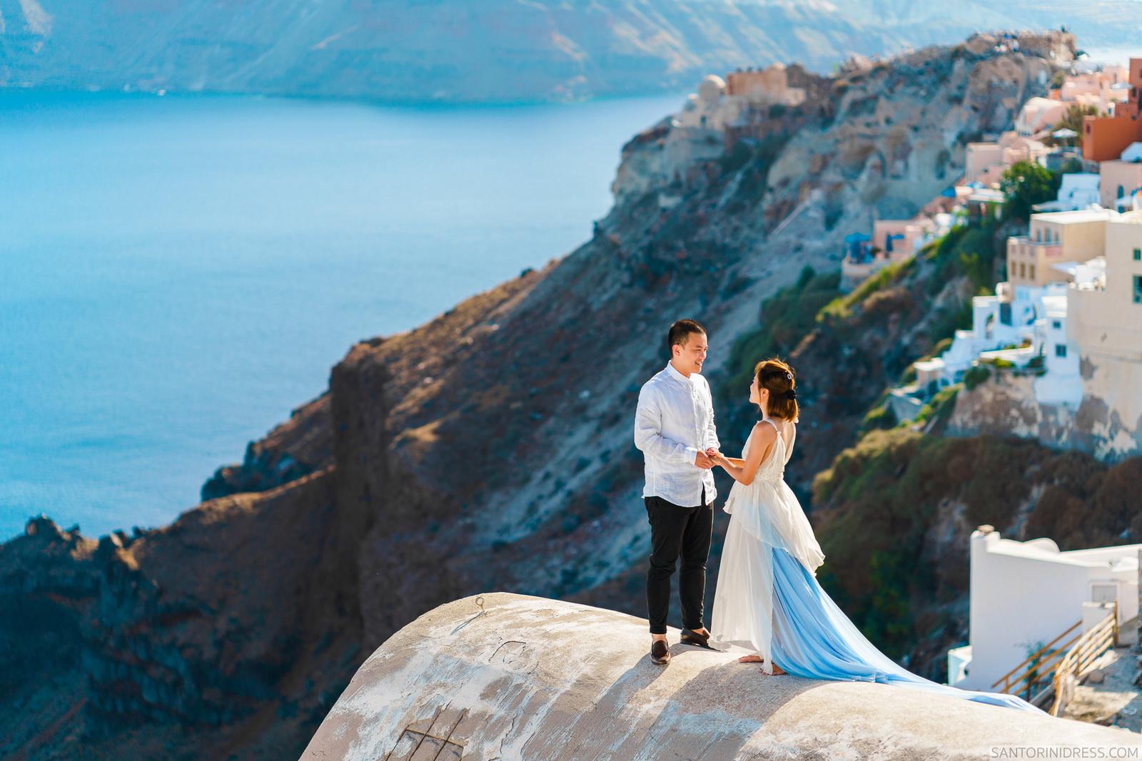 Zac Elizabeth: свадьба на санторини, свадебное агентство Julia Veselova - Фото 3
