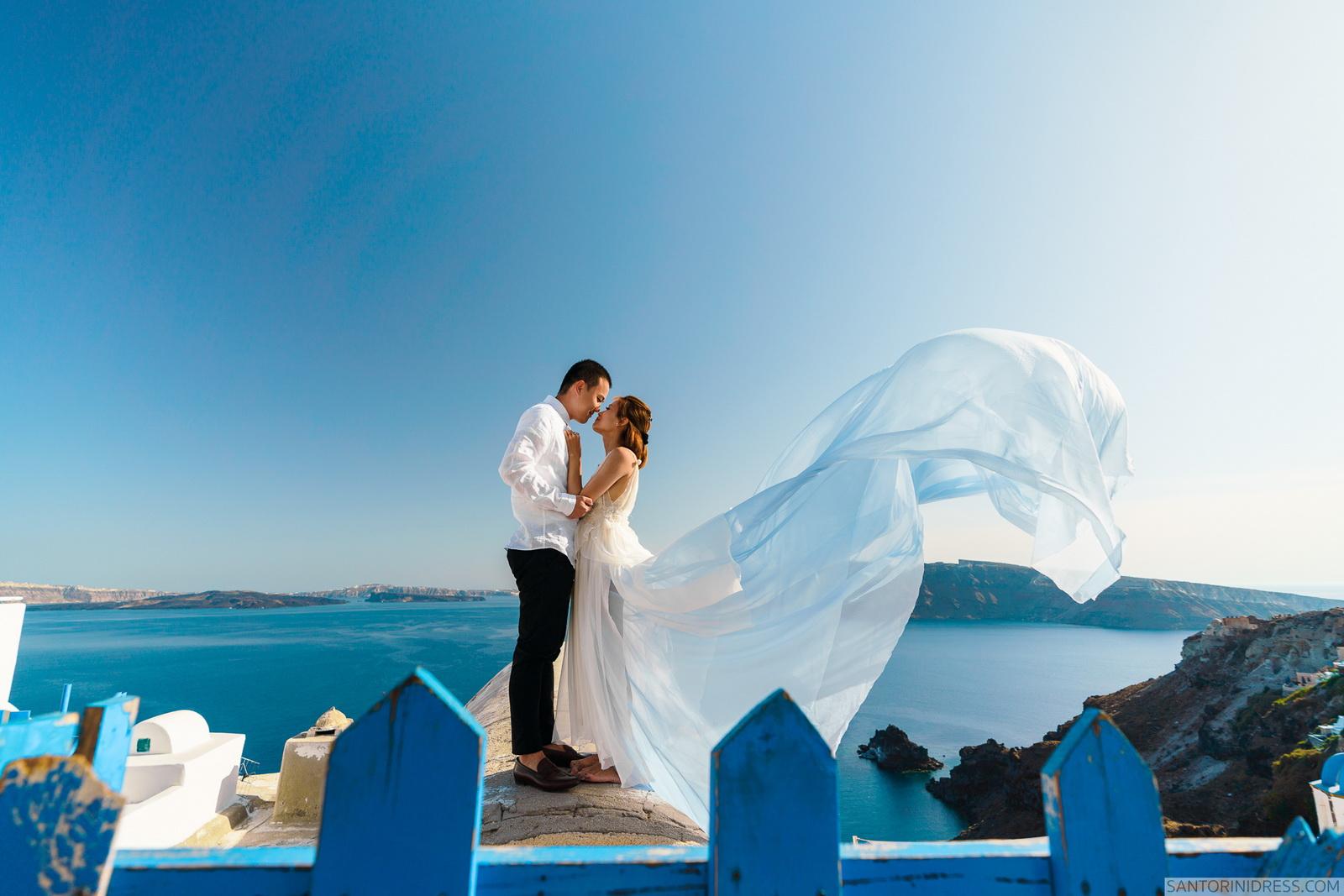 Zac Elizabeth: свадьба на санторини, свадебное агентство Julia Veselova - Фото 10