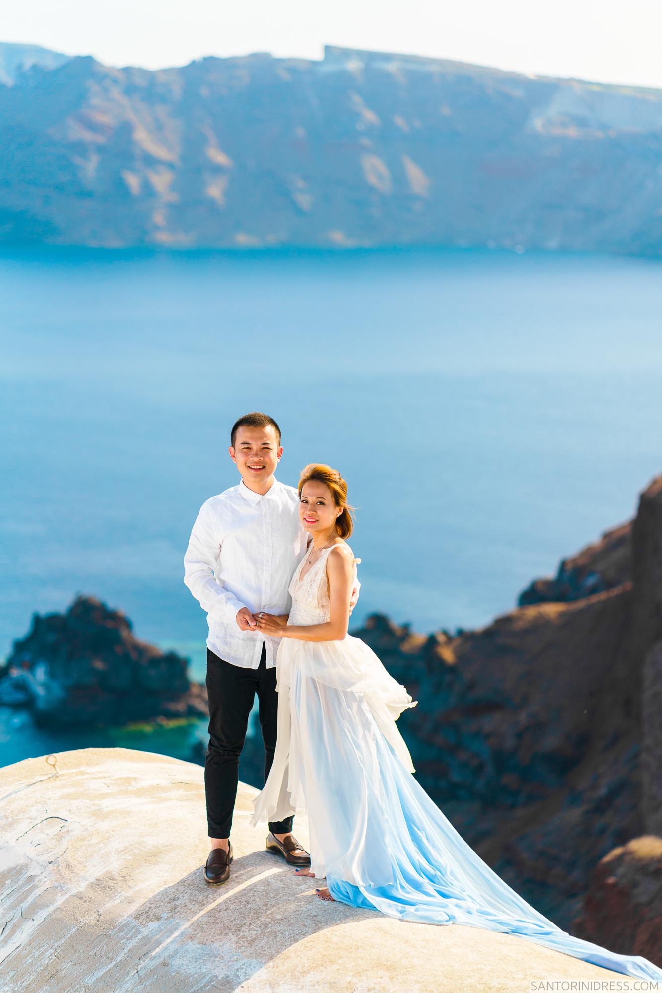 Zac Elizabeth: свадьба на санторини, свадебное агентство Julia Veselova - Фото 11
