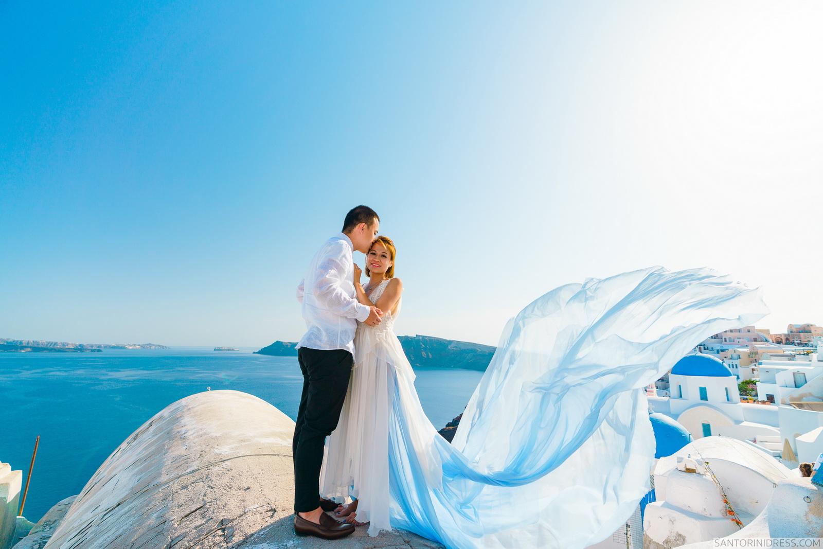Zac Elizabeth: свадьба на санторини, свадебное агентство Julia Veselova - Фото 12