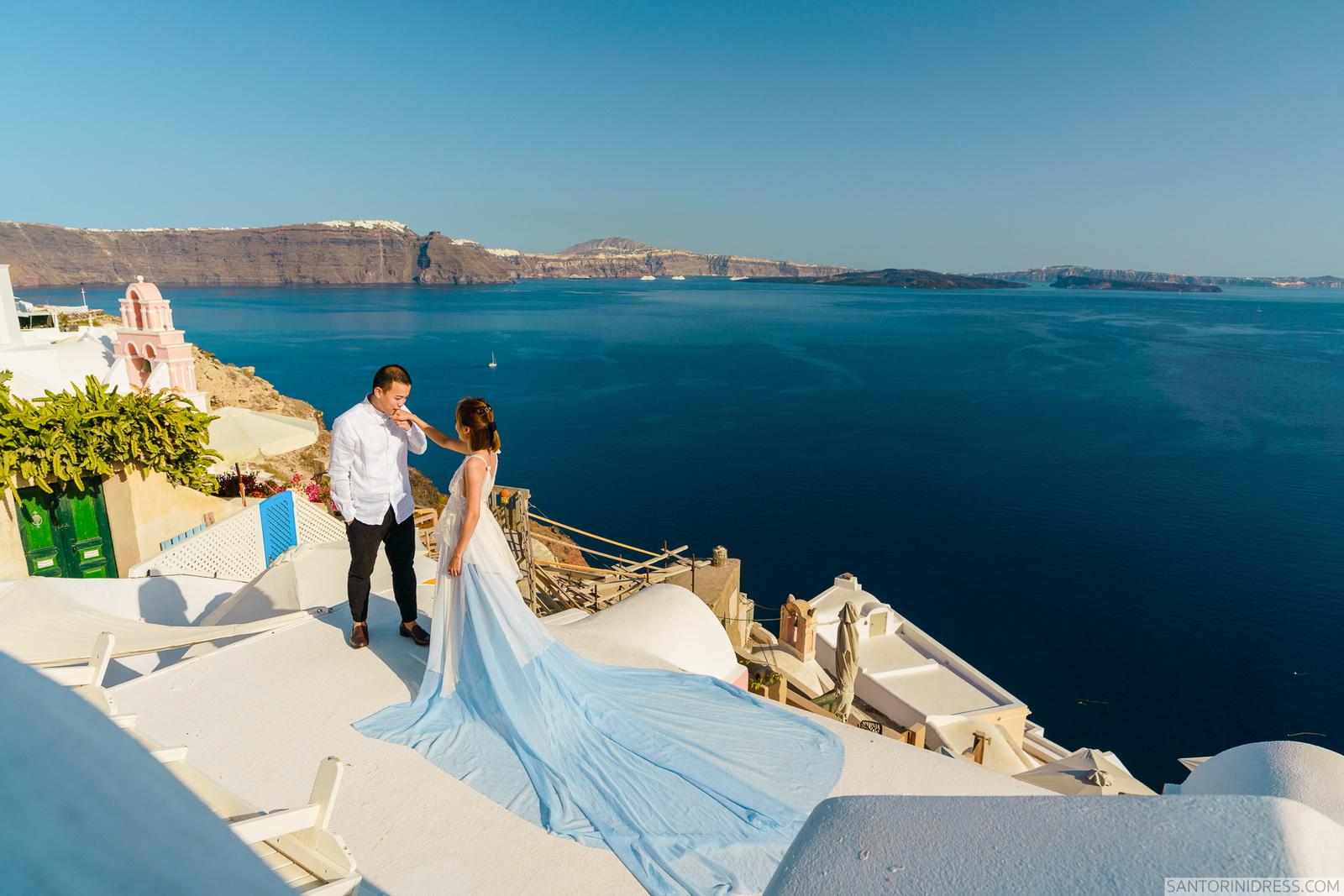 Zac Elizabeth: свадьба на санторини, свадебное агентство Julia Veselova - Фото 13