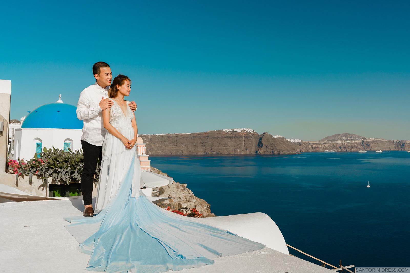 Zac Elizabeth: свадьба на санторини, свадебное агентство Julia Veselova - Фото 14