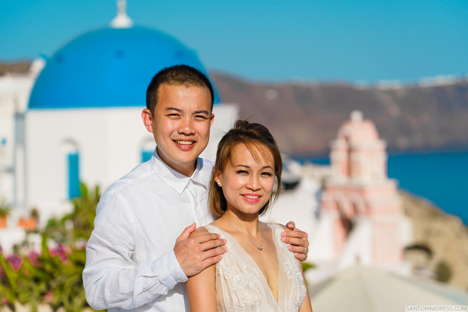 Zac Elizabeth: свадьба на санторини, свадебное агентство Julia Veselova - Фото 15