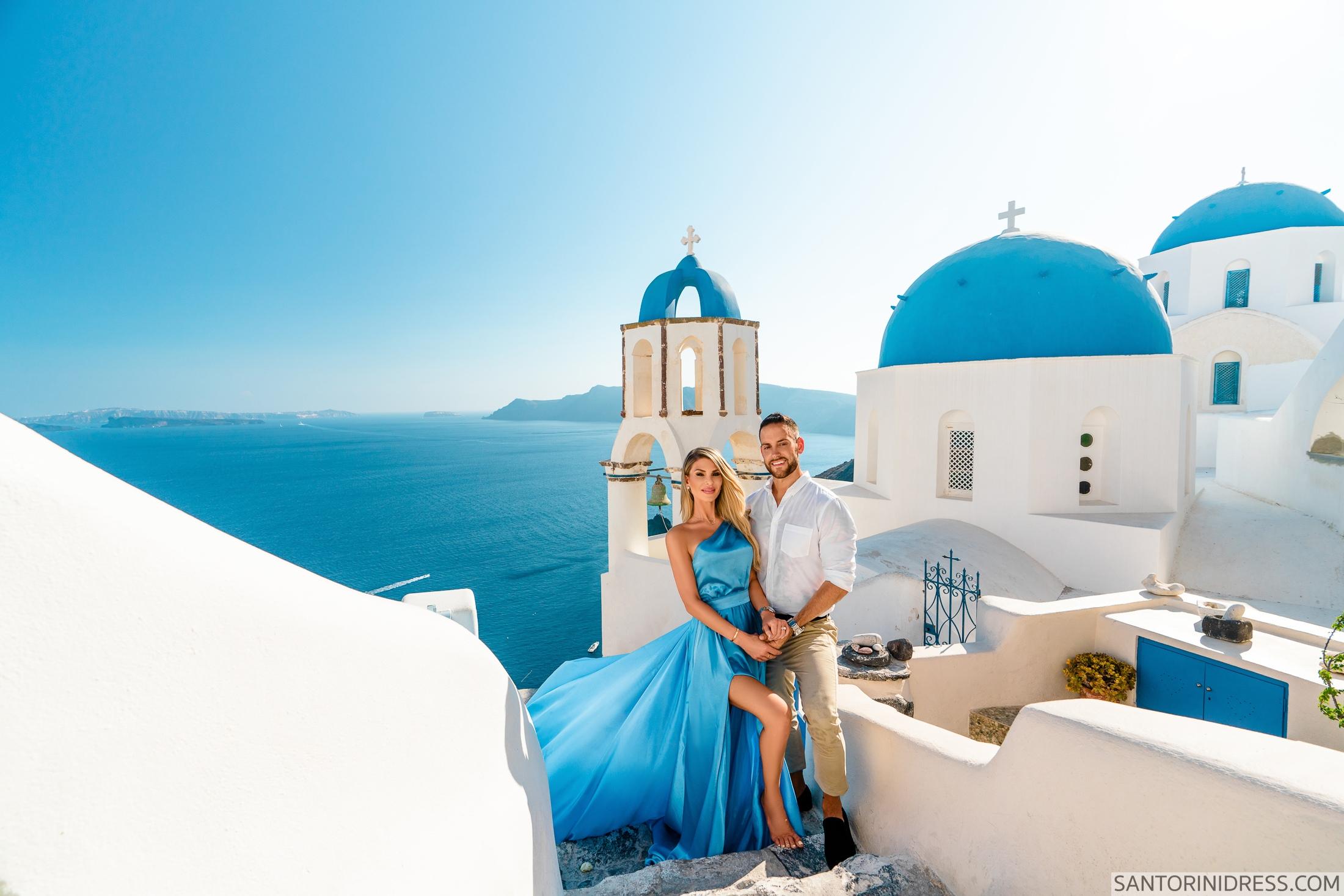 Регина и Андрей: свадьба на санторини, свадебное агентство Julia Veselova - Фото 2