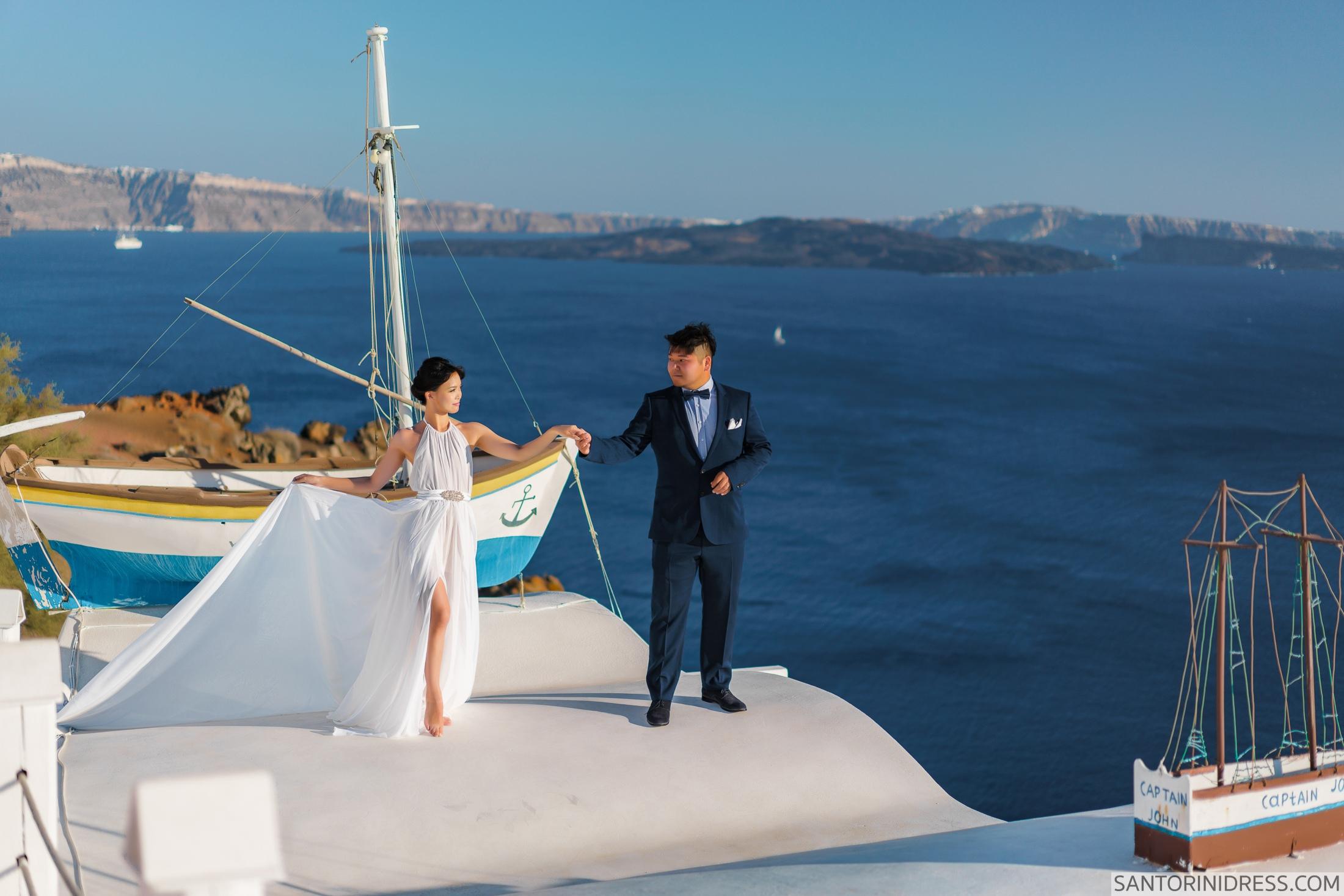 Миу и Чонг: свадьба на санторини, свадебное агентство Julia Veselova - Фото 2
