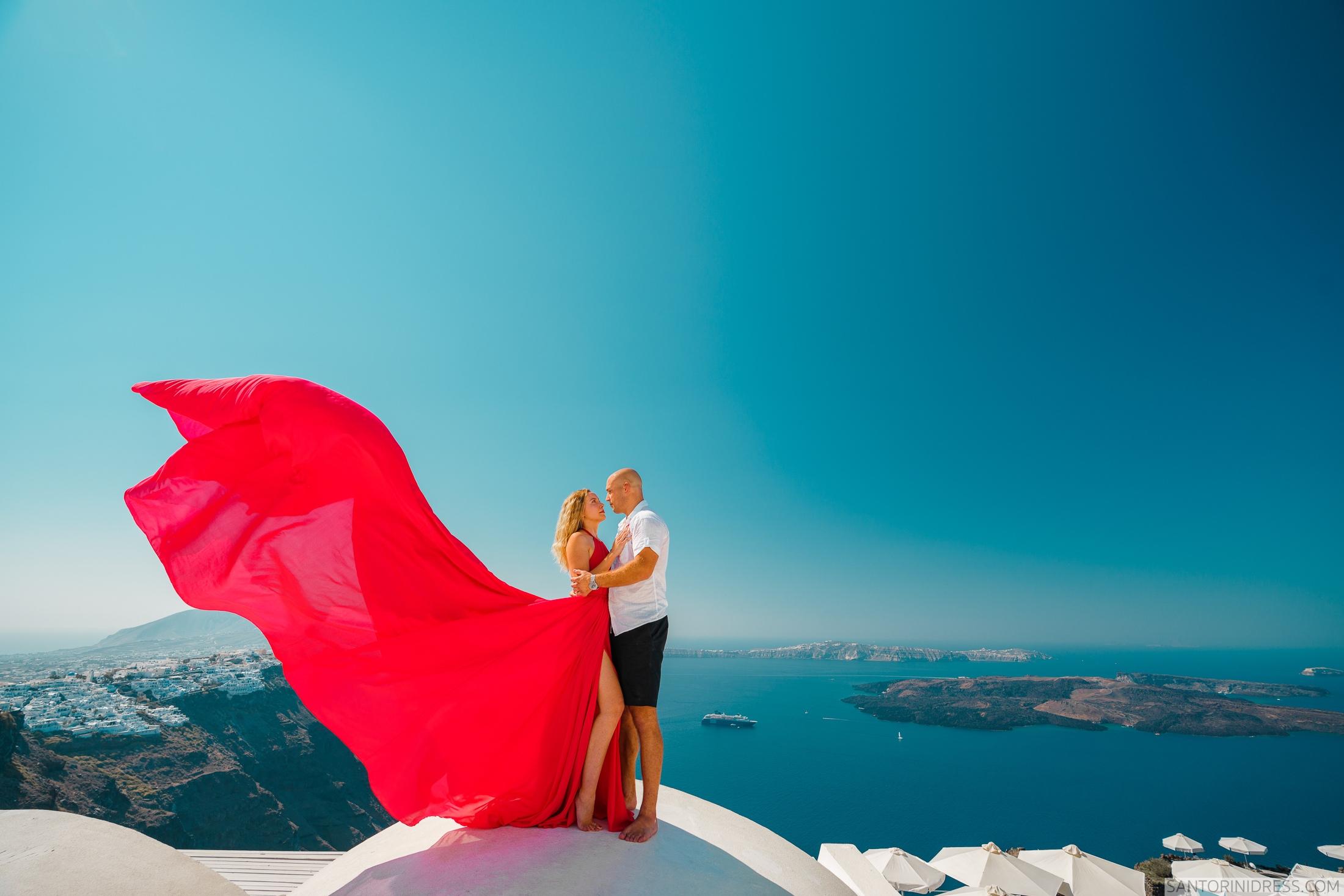 Милана и Антон: свадьба на санторини, свадебное агентство Julia Veselova - Фото 2